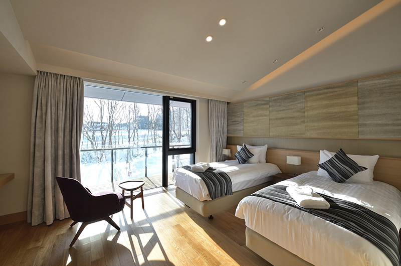 Tsudoi Single Beds Area | Hirafu, Niseko