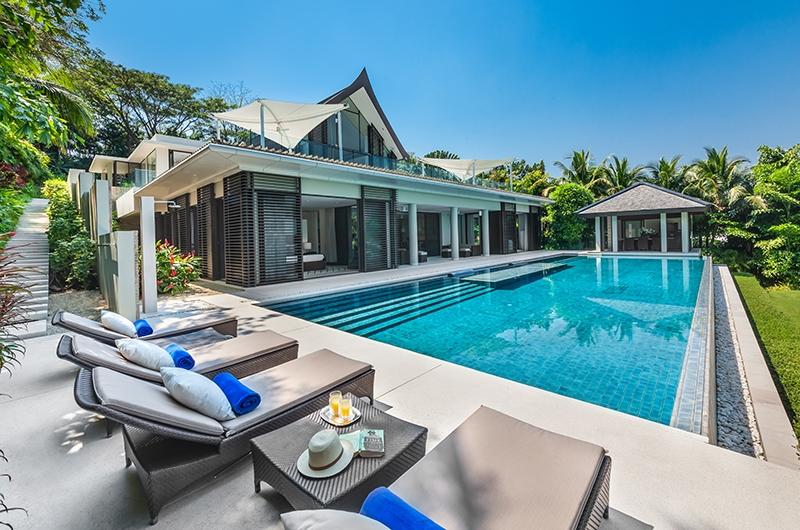 Villa Vikasa Pool Area   Cape Yamu, Phuket