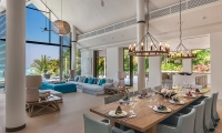 Villa Vikasa Dining Area   Cape Yamu, Phuket