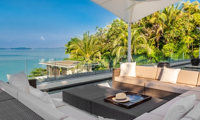 Villa Vikasa Open Plan Seating Area | Cape Yamu, Phuket