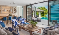 Villa Vikasa Living Room   Cape Yamu, Phuket