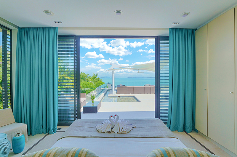 Villa Vikasa Bedroom with Ocean Views | Cape Yamu, Phuket