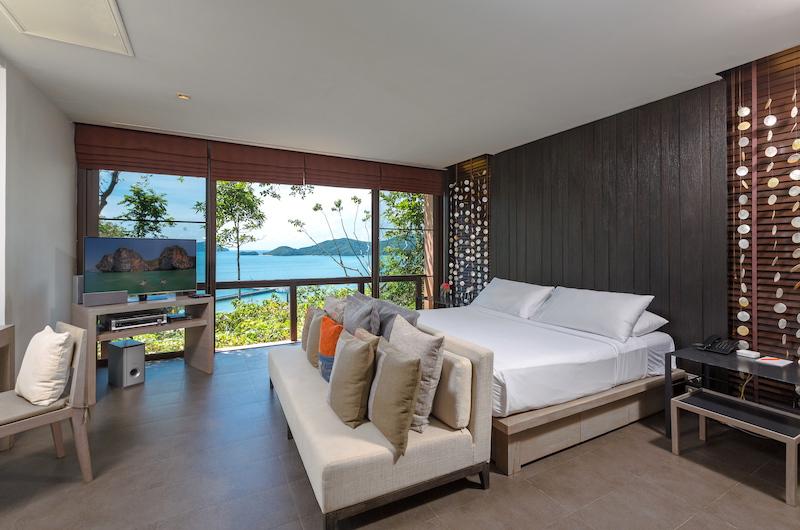 Villa Viva Panwa Bedroom with Ocean View   Cape Panwa, Phuket