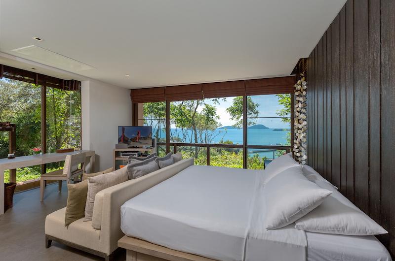 Villa Viva Panwa Spacious Bedroom with TV   Cape Panwa, Phuket