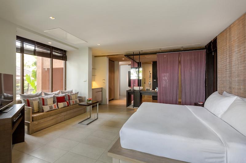Villa Viva Panwa Bedroom with Seating   Cape Panwa, Phuket