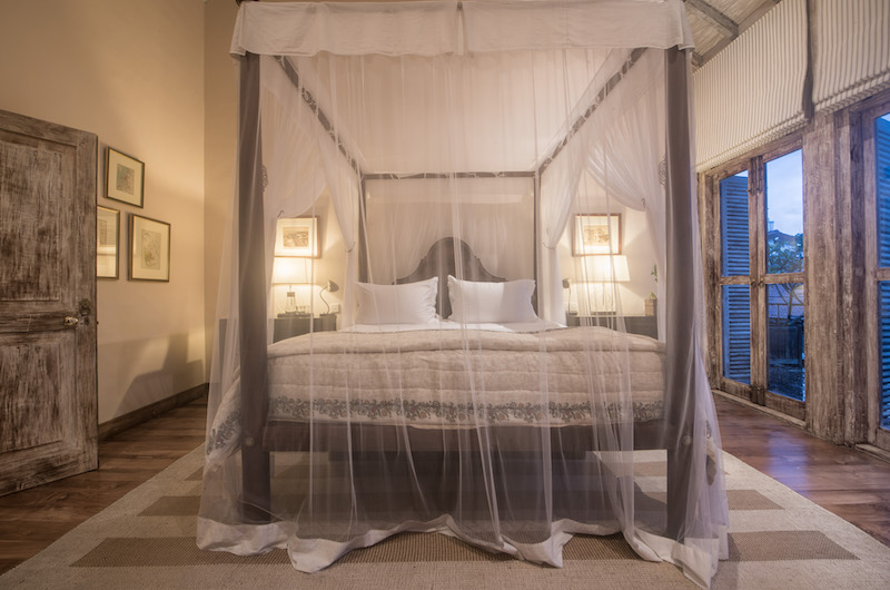 20 Middle Street Bedroom with Lamps | Galle, Sri Lanka