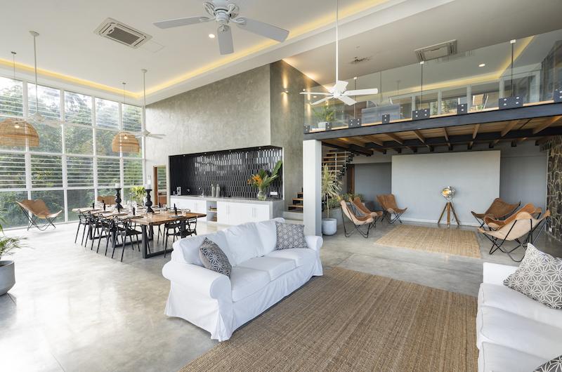 The Nine Mirissa Living Area | Mirissa, Sri Lanka