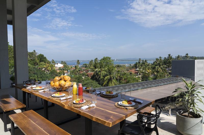 The Nine Mirissa Dining Table | Mirissa, Sri Lanka