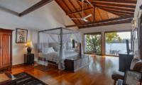 Villa Republic Bentota Master Bedroom with TV   Bentota, Sri Lanka