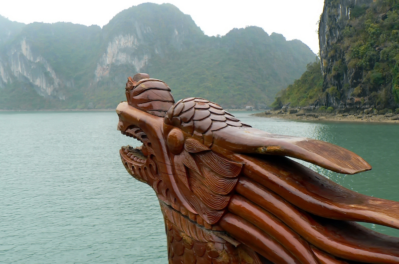 Dragon Boat | Halong Bay, Vietnam
