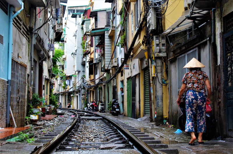Train Tracks | Hanoi, Vietnam