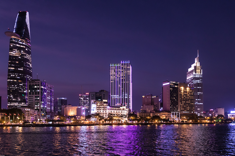 Night Lights | Ho Chi Minh City, Vietnam