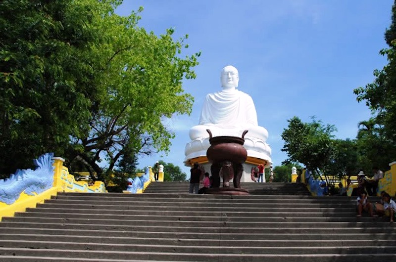 White Buddha - Long Son Pagoda | Vietnam