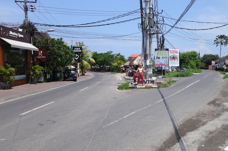 Intersection of Jalan Batu Bolong | Canggu, Bali