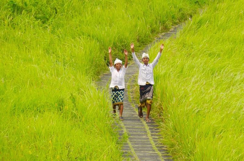 Local Boys on the Campuhan Ridge Walk | Ubud, Bali