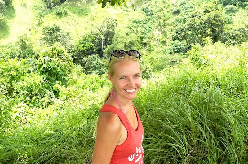 Sara on the Campuhan Ridge Walk | Ubud, Bali