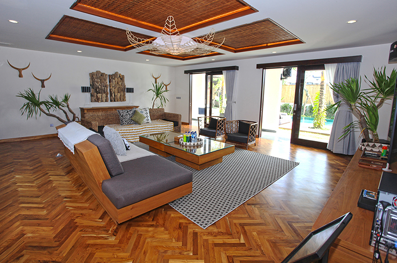 Villa Elite Cassia Living Area   Canggu, Bali