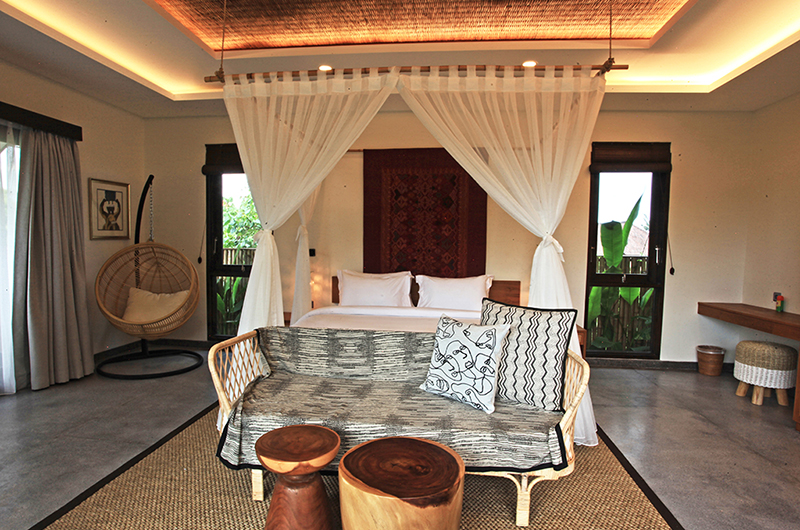 Villa Elite Cassia Bedroom with Seating | Canggu, Bali