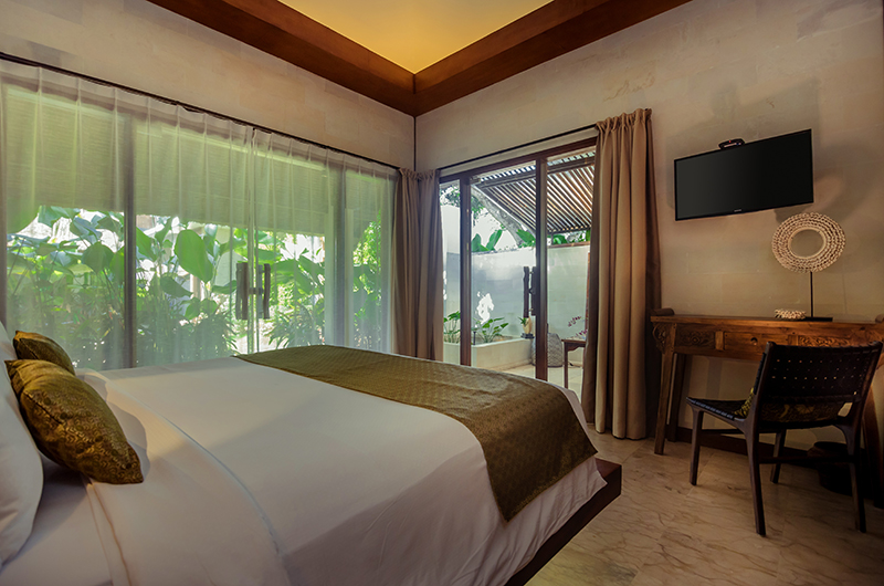 Villa Karmagali Bedroom with TV | Sanur, Bali