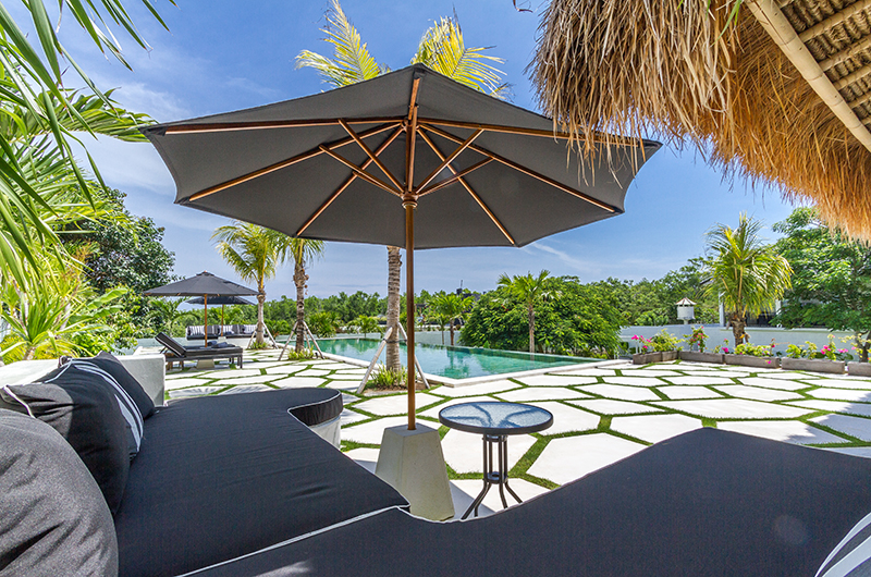 Villa Kusuma Outdoor Seating | Uluwatu, Bali