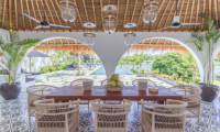 Villa Kusuma Dining Area | Uluwatu, Bali