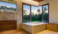 Villa Lumia Bathtub Area   Ubud, Bali