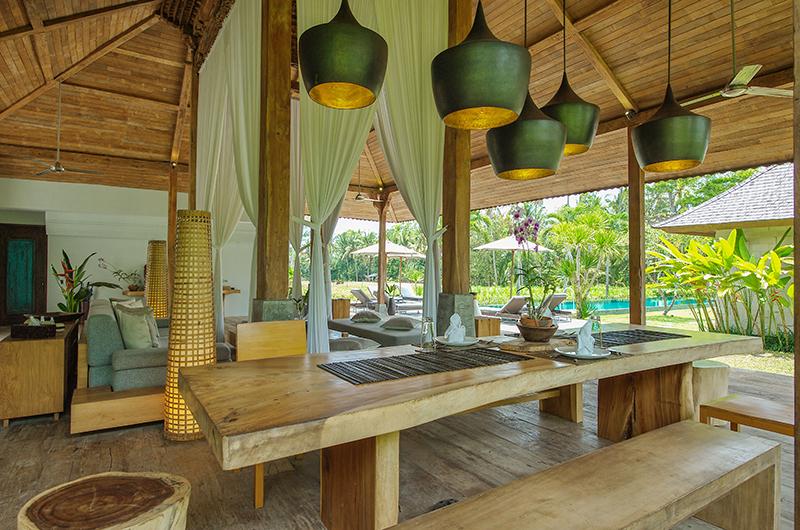 Villa Lumia Dining Area   Ubud, Bali