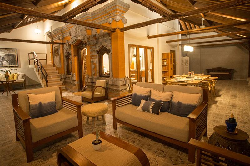 Villa Rindik Living and Dining Area | Canggu, Bali