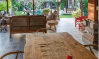 Villa Rindik Indoor Dining Table | Canggu, Bali