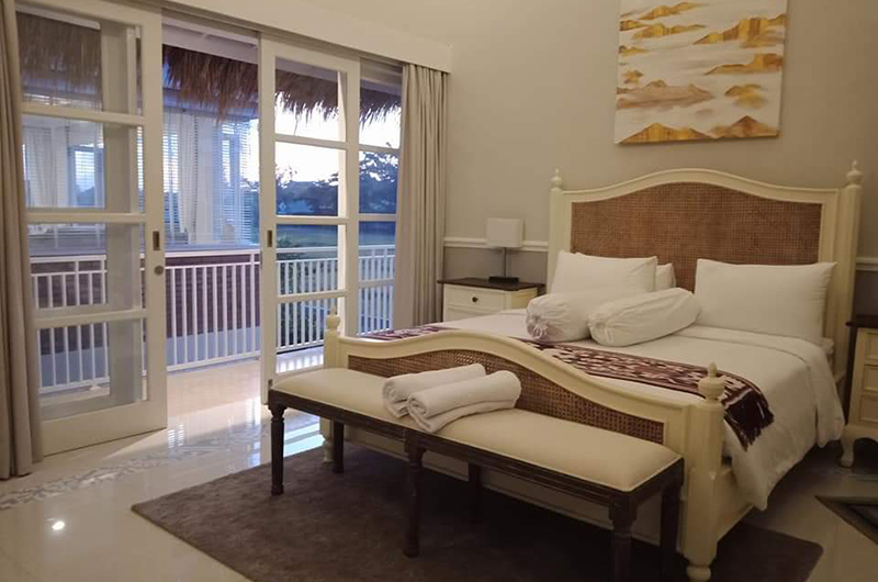 Villa Sasando Bedroom Area   Canggu, Bali