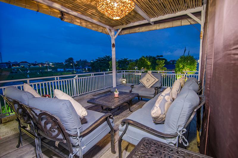 Villa Sasando Open Plan Seating Area   Canggu, Bali