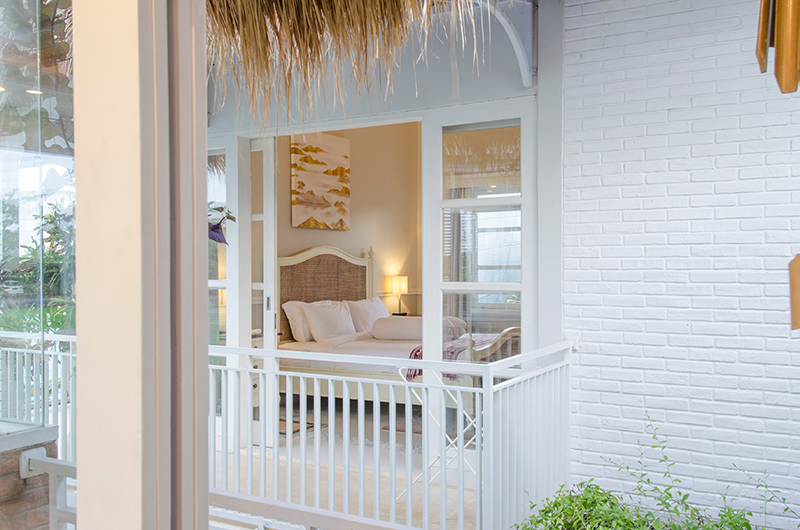 Villa Sasando Bedroom Two with Balcony   Canggu, Bali