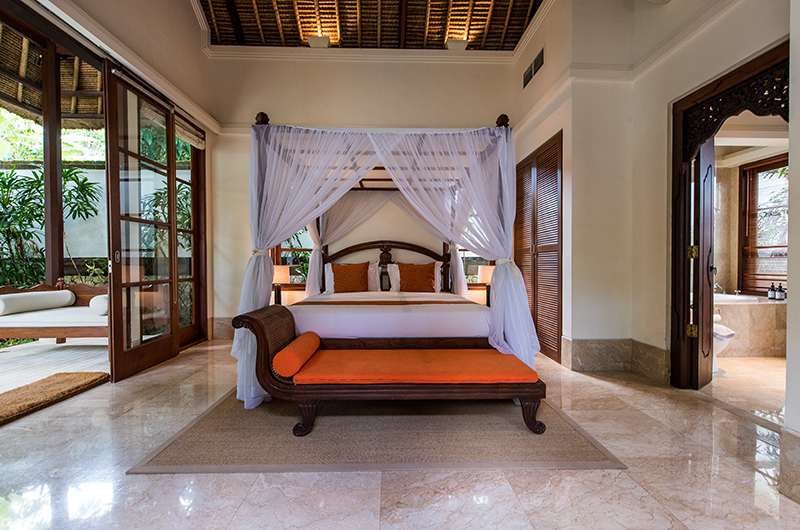 Villa Senada Bedroom with Seating | Jimbaran, Bali