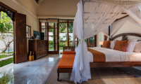 Villa Senada Bedroom with TV | Jimbaran, Bali