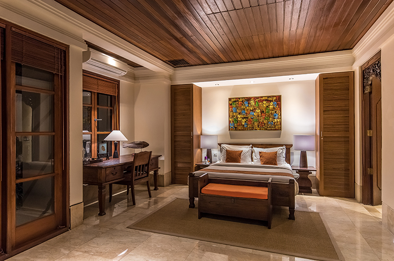 Villa Senada Bedroom with Study Table | Jimbaran, Bali