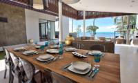Mandalay Beach Villas Villa Neung Dining Table | Bang Por, Koh Samui