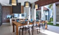 Mandalay Beach Villas Villa Soong Dining Area | Bang Por, Koh Samui