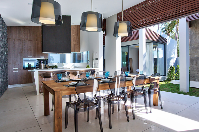 Mandalay Beach Villas Villa Soong Dining Area | Bang Por, Koh Samui