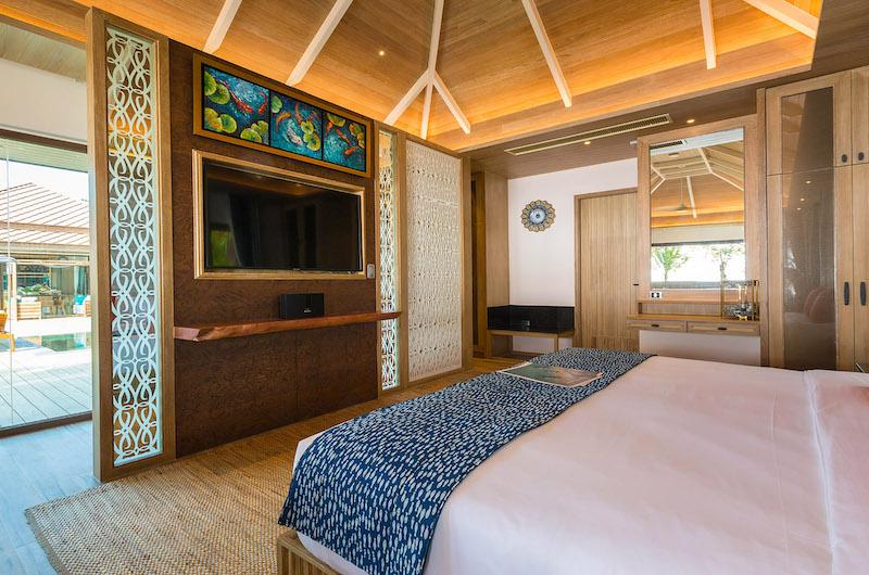 Villa Angthong Bedroom Area | Choeng Mon, Koh Samui