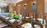 Villa Angthong Dining Table | Choeng Mon, Koh Samui