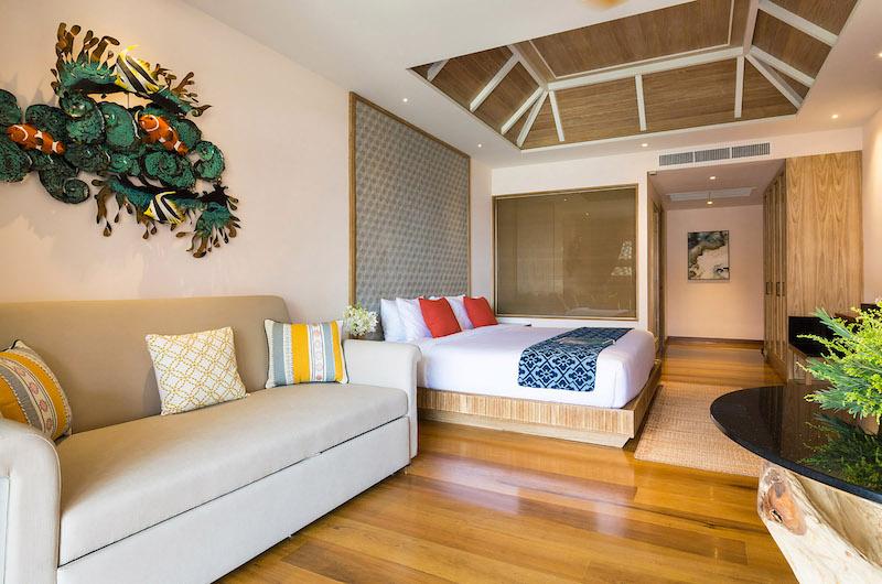 Villa Angthong Bedroom with Seating | Choeng Mon, Koh Samui