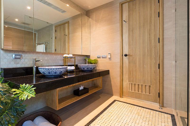 Villa Angthong Bathroom Area | Choeng Mon, Koh Samui