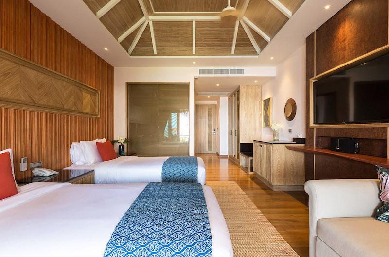 Villa Angthong Twin Bedroom Area | Choeng Mon, Koh Samui