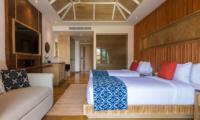 Villa Angthong Twin Bedroom | Choeng Mon, Koh Samui