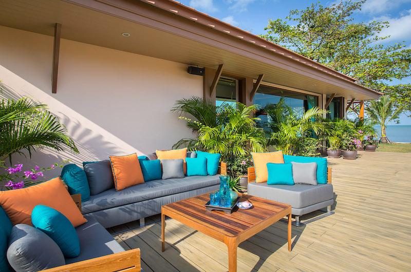 Villa Angthong Seating Area | Choeng Mon, Koh Samui