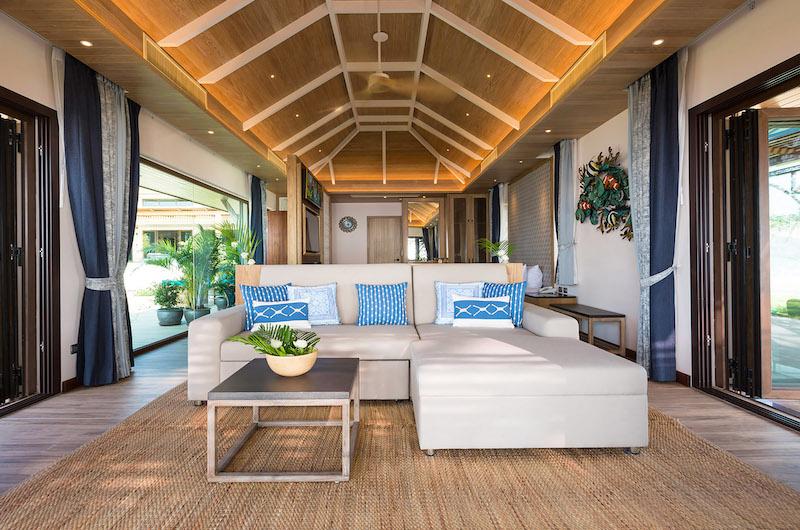 Villa Angthong Living Room | Choeng Mon, Koh Samui
