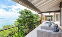Villa Arcadia Balcony with Seating | Laem Sor, Koh Samui