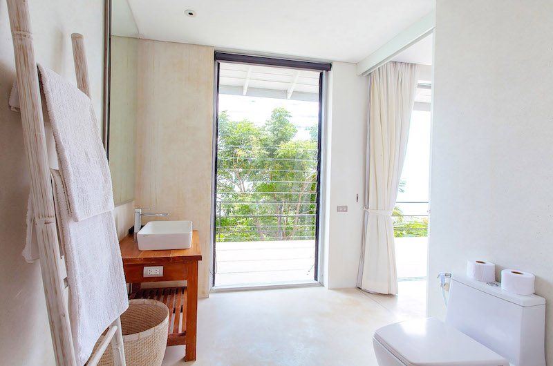 Villa Arcadia Bathroom Area | Laem Sor, Koh Samui