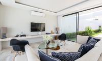 Villa Neung Skye Living Room   Choeng Mon, Koh Samui