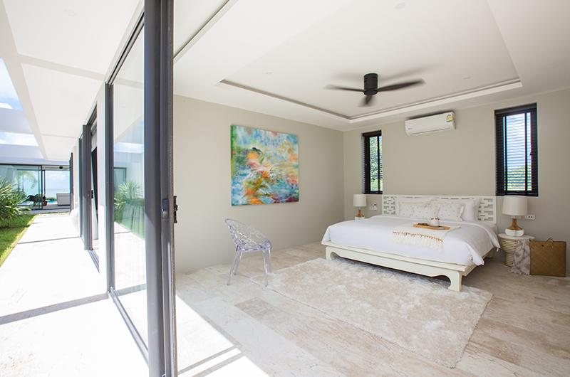 Villa Song Skye Bedroom Area | Choeng Mon, Koh Samui